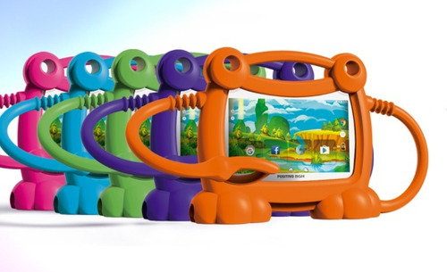 tablet positivo bgh kids y710 funda colores 8gb  quadcore