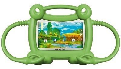 tablet positivo bgh kids y710 funda verde 8gb  quadcore