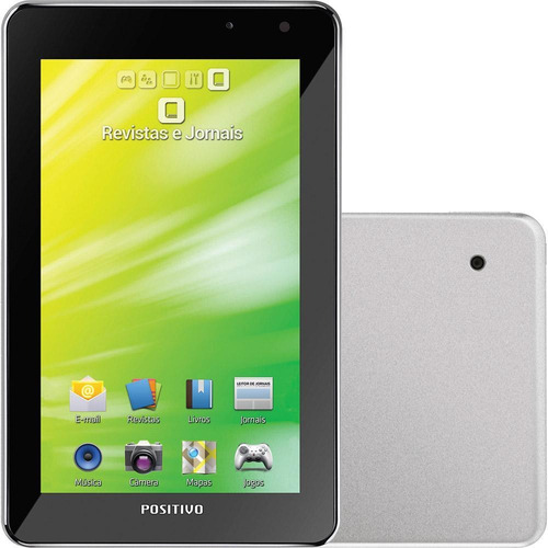 tablet positivo ypy 07ftb 3g, android 4.0 - prata