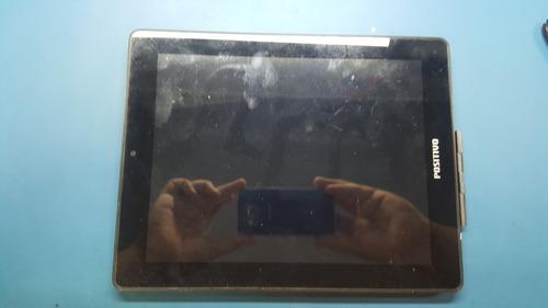 tablet positivo ypy tela de 10 polegadas com defeito.
