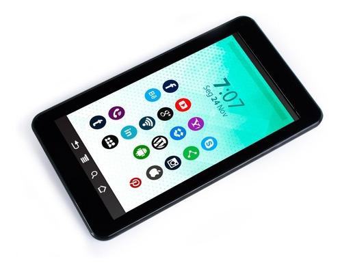 tablet preto kit mouse capa hub otg android 8.1 wifi tela 7