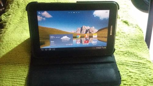 tablet samsung galaxy tab 2 - 7.0  (desbloqueado) + capa