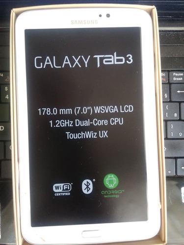 tablet samsung galaxy tab 3 sm-t210 8gb branco