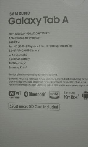 tablet samsung galaxy tab a 10.1 de 16 gb