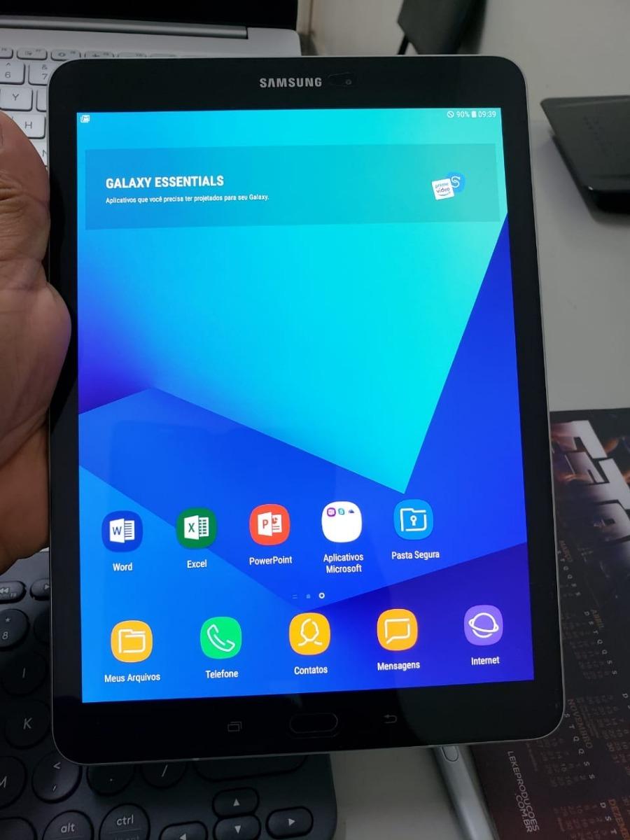 ad84df23e6d tablet samsung galaxy tab s3 - sm t825 - semi novo!!! Carregando zoom.