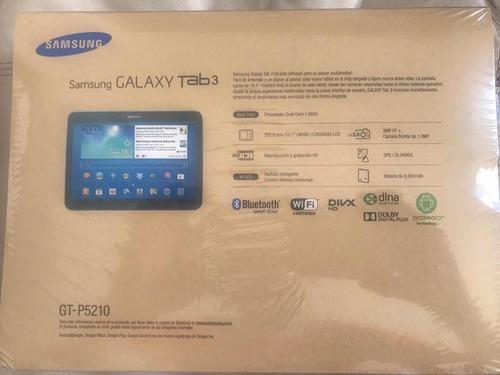 tablet samsung p5210 10,1 pulgadas 16 gb wifi nueva sellada