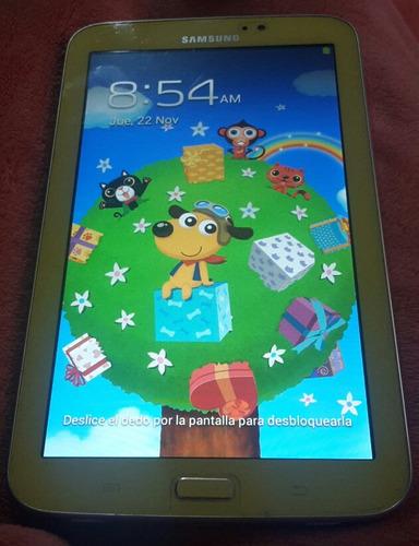 tablet samsung para ninos usada tiene la bateria dañada