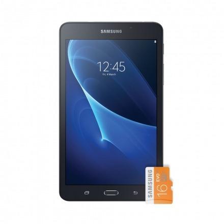 tablet samsung tab a sm-t280 7  wifi/8gb + me 16gb preto