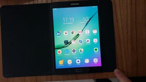 tablet samsung tab s2 + funda original + microsd 32 gb