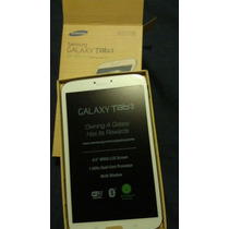 Tabla Samsung Galaxy Tab 3 16gb Wifi 8 Sm T310 Nueva