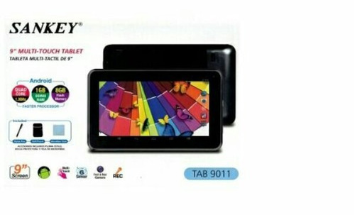 tablet sankey 9 pugl quad core 1 gb ram 8gb wifi egratis
