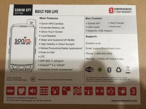 tablet sonim ip66 display 4 pulgadas mini bateria larga dura