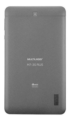 tablet tela 7  16gb multilaser m7 3g plus nb325 preto