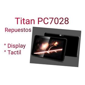 Tablet Titan Pc7028 - Repuestos
