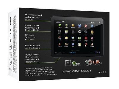 tablet view max android 4.1 1.2ghz 8gb doble cámara 7  wifi