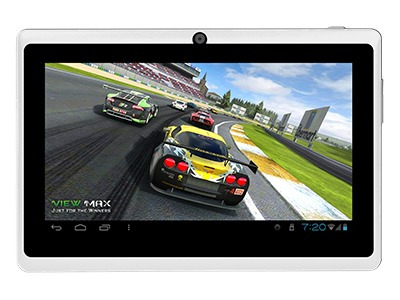 tablet view max android 4.1 1.2ghz 8gb doble cámara 7p wifi