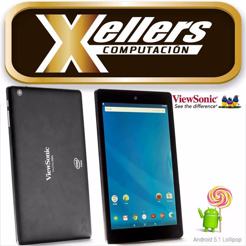 tablet viewsonic ir8q 8 intel quad core 16gb wifi - xellers