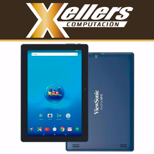 tablet viewsonic m10 android 7 16gb wifi ips 10 hdmi envío