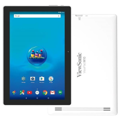 tablet viewsonic m10 ips blanca quad core 16g gps micro hdmi