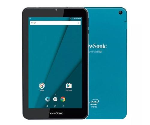 tablet viewsonic viewpad i7m intel quad bt wifi blue tlinfo
