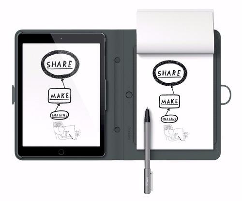 tablet wacom bamboo spark cds600p gris negro tienda