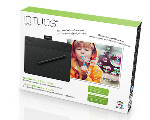 tablet wacom intuos pen & touch photo cth490pk small puebla
