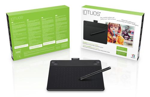 tablet wacom intuos photo small cth490pk usb negro tienda