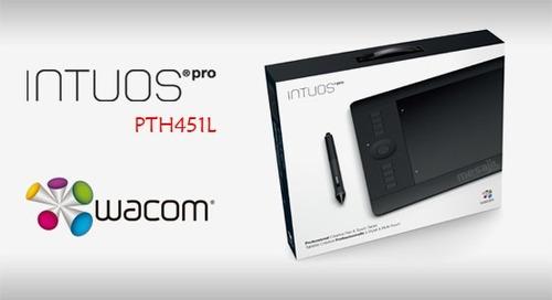 tablet wacom intuos pro small pth451l usb negro