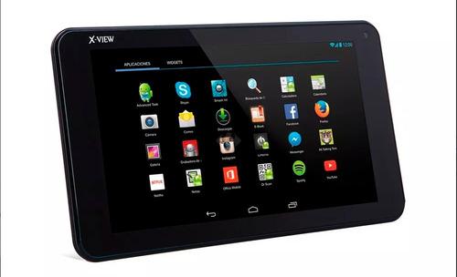 tablet x-view amber hd negra 1gb ram 8gb int. pant.7