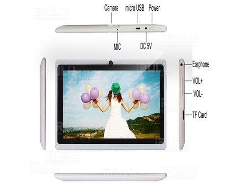 tablet7 -1024*600hd,16gb, android 4.4, camara 2mp