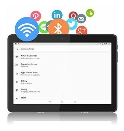 tableta android de 10 pulgadas, go 81 tablet pc con certific