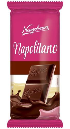 tableta de chocolatina napolitano 70gr pa - kg a $6