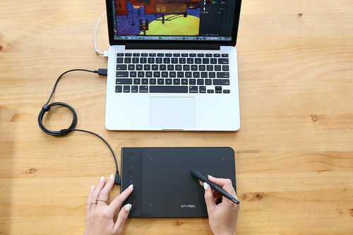 tableta digitalizadora 6x4 lapiz wacom zoom = huion xp pen