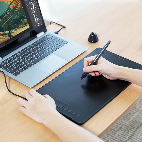 tableta digitalizadora grande 11x7 profesores diseño =wacom