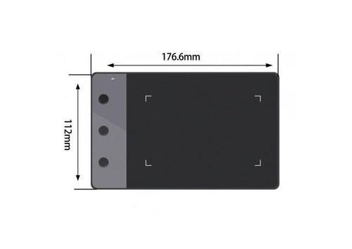 tableta digitalizadora huion h420 firma electronica + pluma