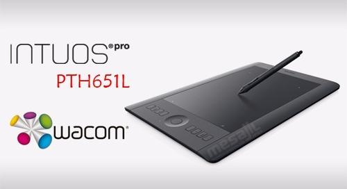 tableta digitalizadora wacom intuos pro (mediano) pth651l