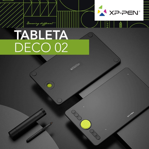 tableta digitalizadora xp pen deco 02 usb wind mac