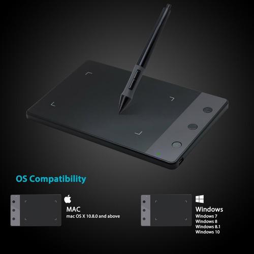 tableta grafica de dibujo huion h420 osu + envio