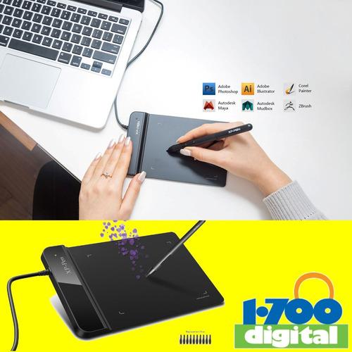 tableta grafica dibujo xp-pen g640s 6 boton = wacom huion