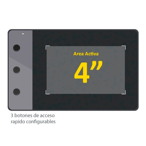 tableta grafica digital huion h420 osu! / tipo wacom + envio