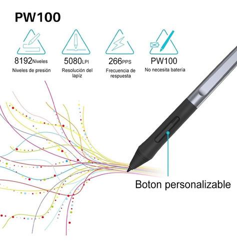 tableta gráfica digitalizadora escritura huion hs64 =wacom