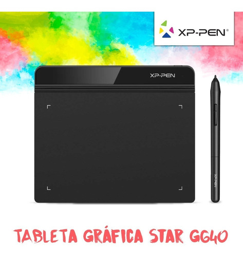 tableta grafica digitalizadora xp pen star g640 4x3 12cts
