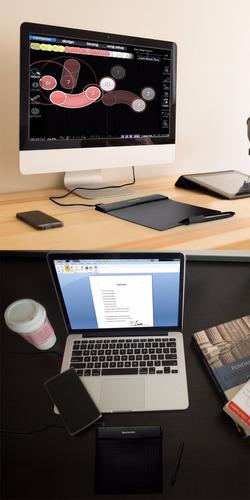 tableta gráfica gaomon  - diseño gráfico ilustración digital