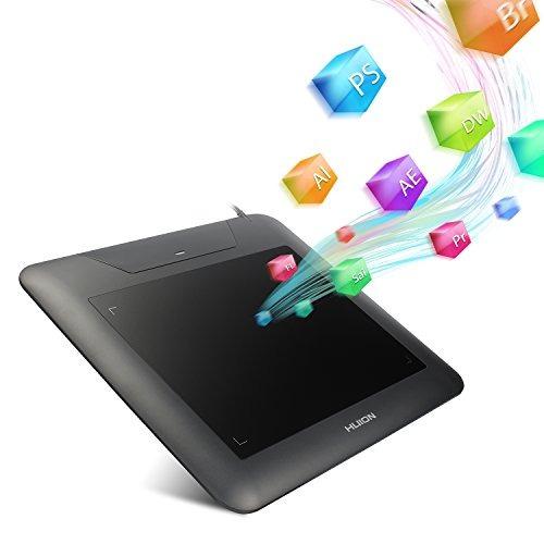 tableta gráfica huion digital para dibujo de 8 x 6 pulgadas