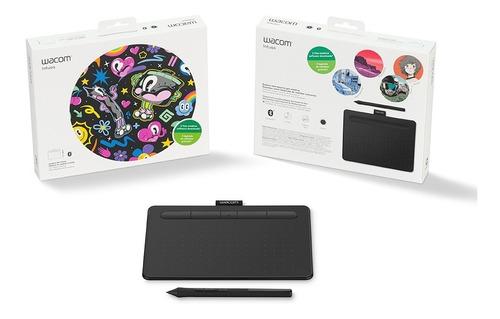 tableta grafica wacom con bt y 3 programas de diseño