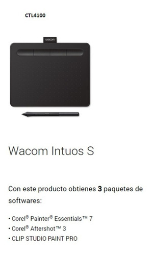 tableta grafica wacom intuos creative pen ctl4100 small