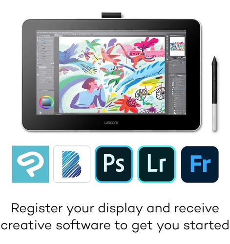 tableta grafica wacom one creative dtc133