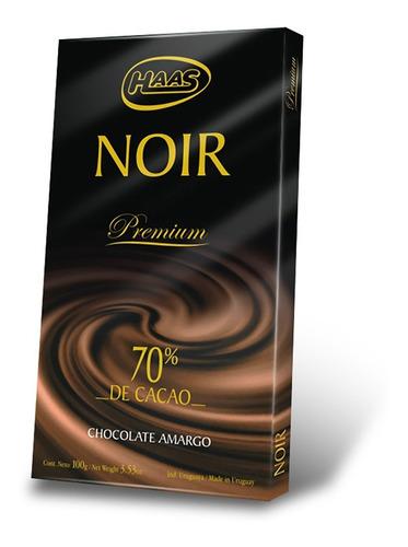 tableta haas noir 100 gr
