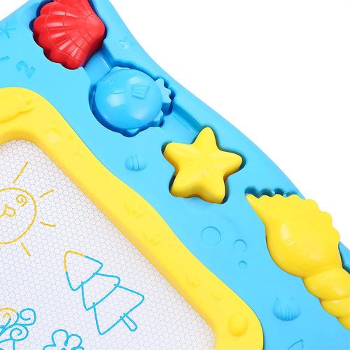 tableta mágica de dibujo p/niños, tamaño medio c/bolígrafo