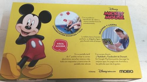 tableta  mobo de disney micky mouse
